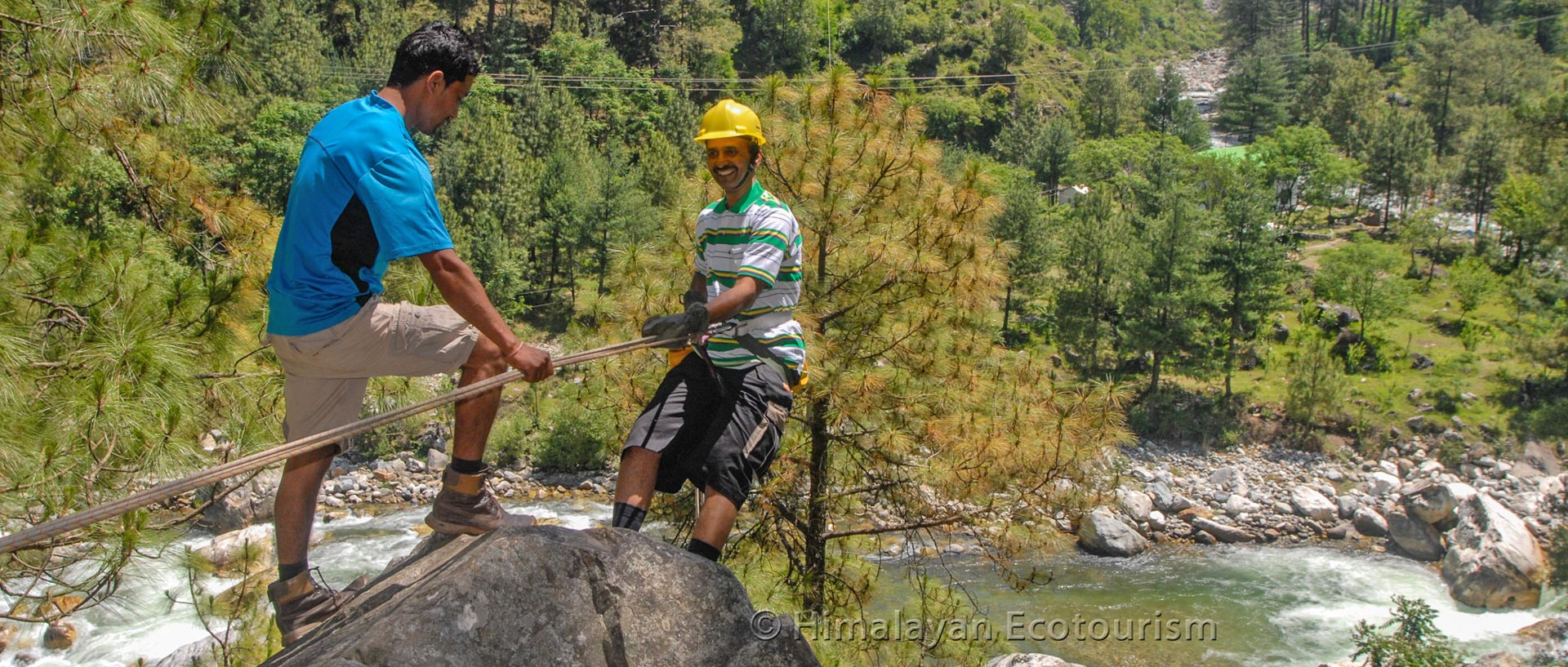 Adventure activities in the Great Himalayan National Park