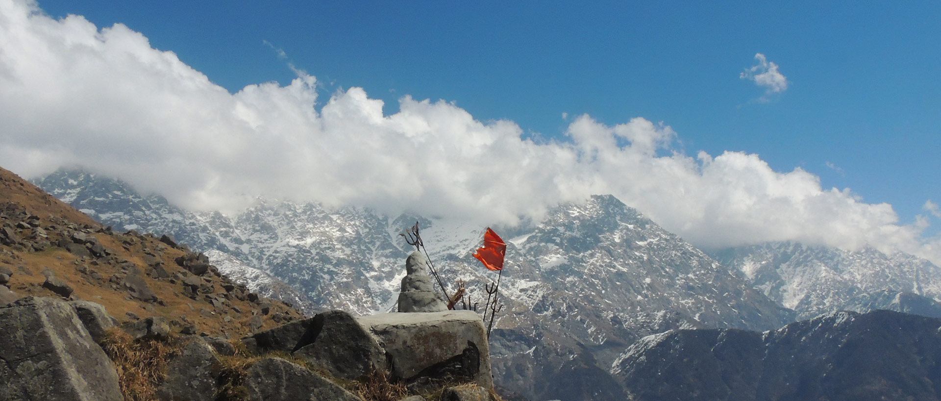 Trek to triund hill Dharamshala