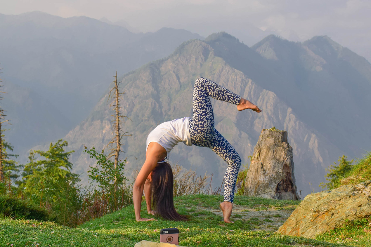 Yoga and meditation in Dharamshala
