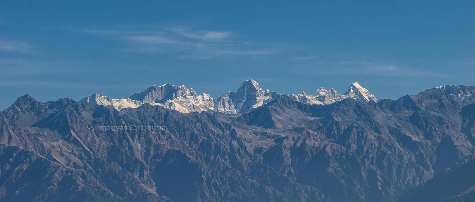 High mountains of the Great Himalayan National Park GHNP
