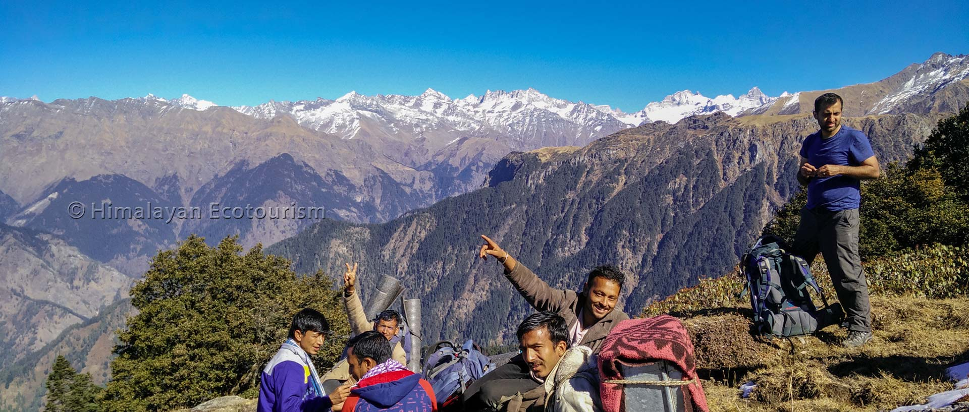 Ookhal trek in the GHNP.