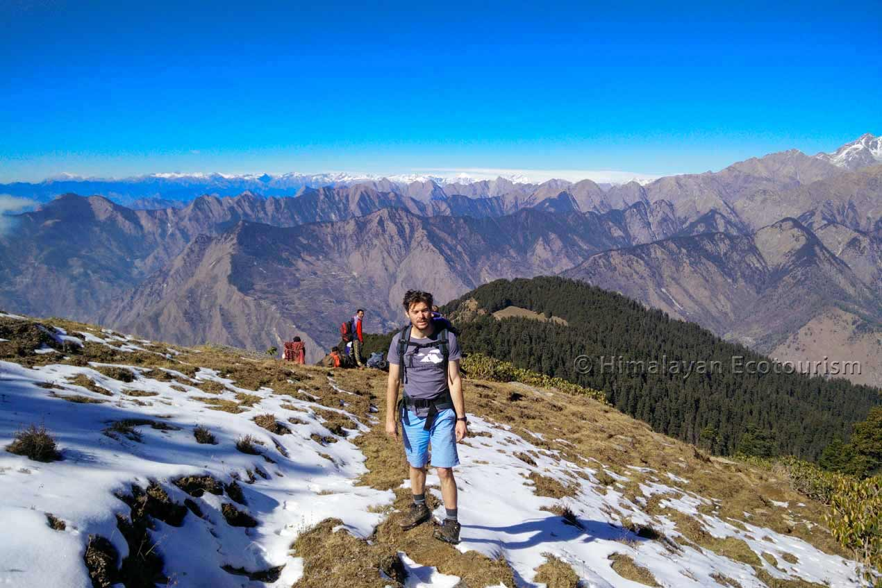 The trek to Ookhal in the GHNP