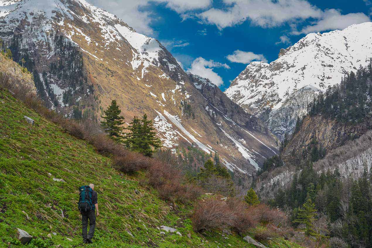 The trek to Raktisar