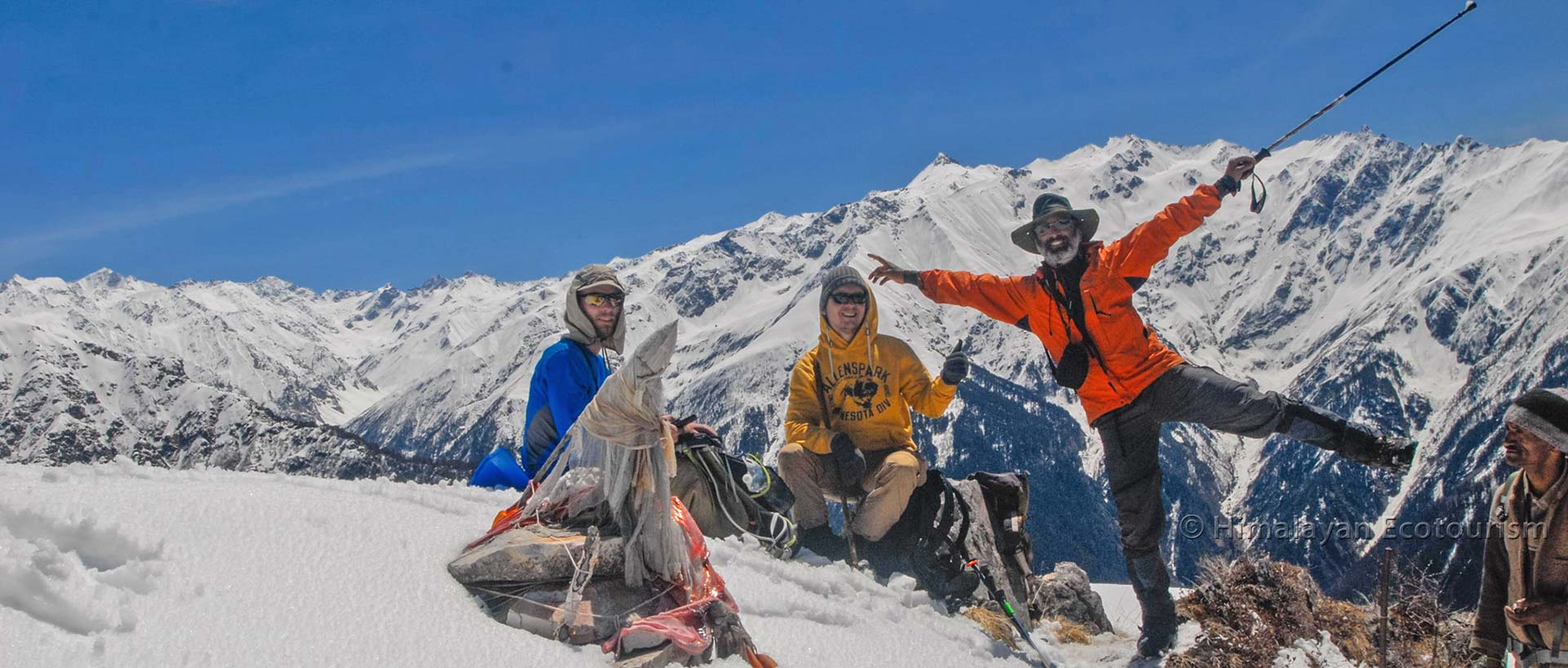 Shilt trek in the Great Himalayan National Park GHNP - Rakhundi top