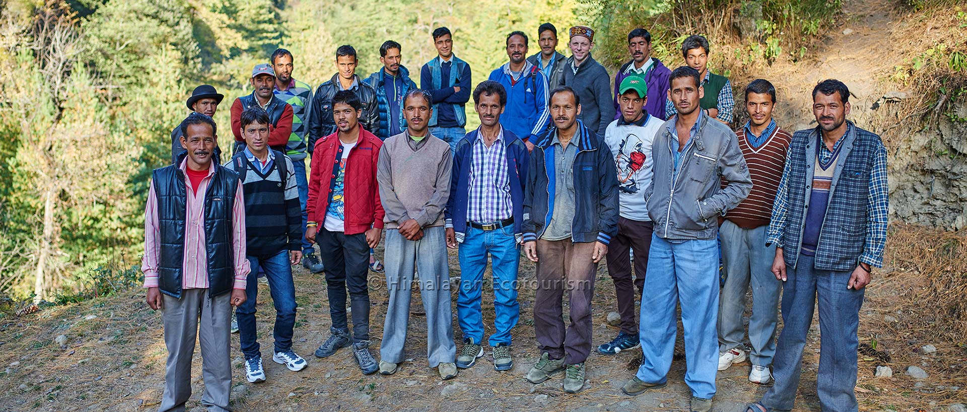 Great Himalayan National Park GHNP locals