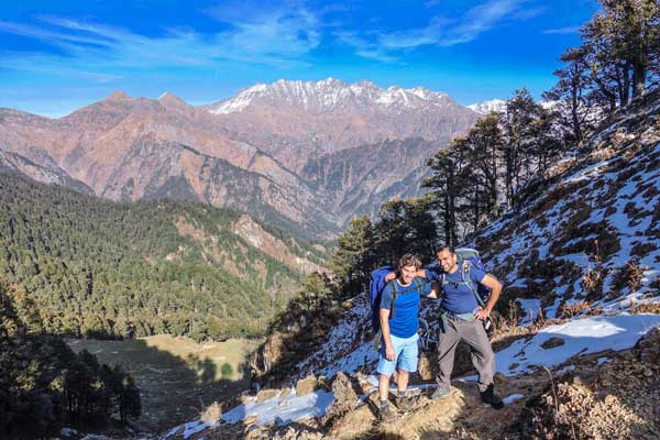 Trek to Ookhal in the GHNP