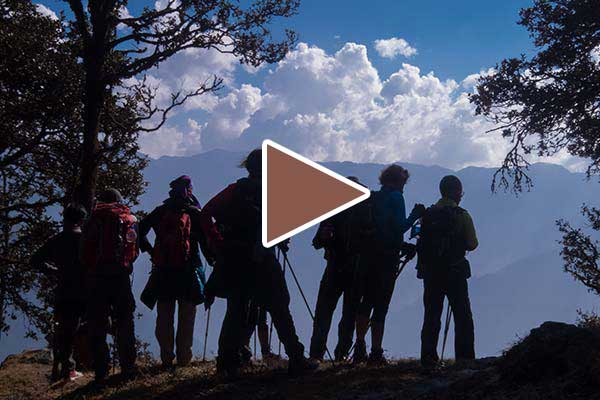 Video about the trek to Marahni, GHNP