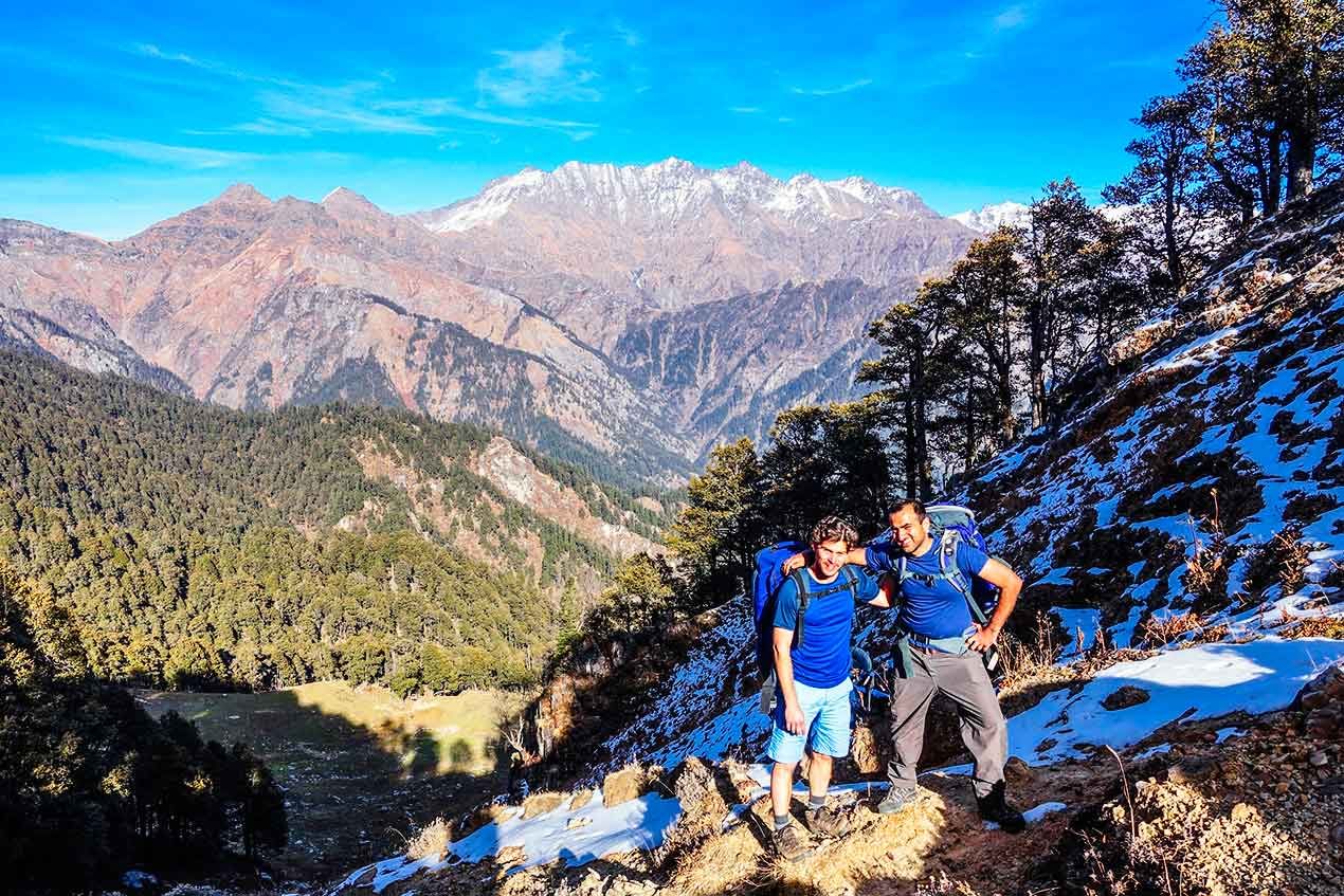 Trekking in Great Himalayan National Park GHNP