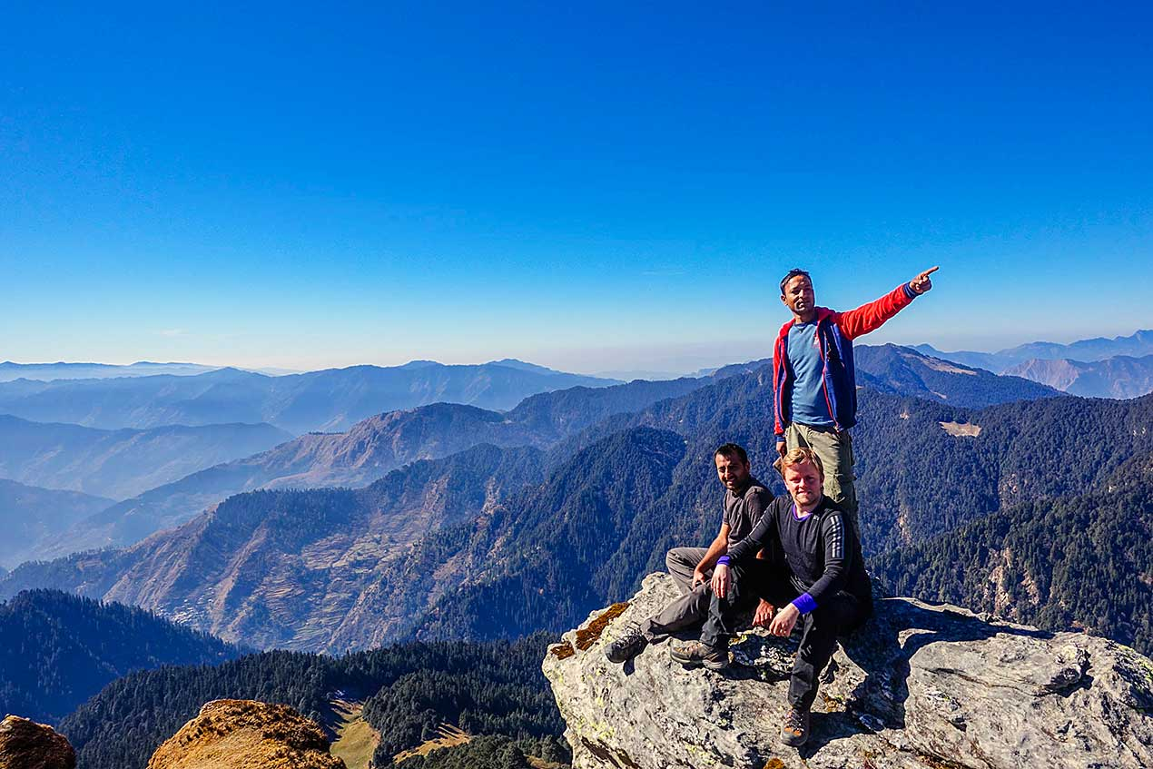 On top of the world at Great Himalayan National Park GHNP