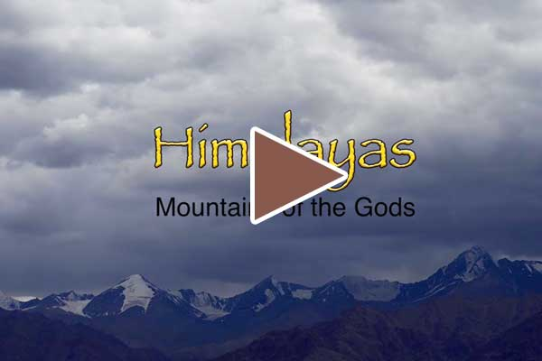 Himalayas, mountains of the Gods