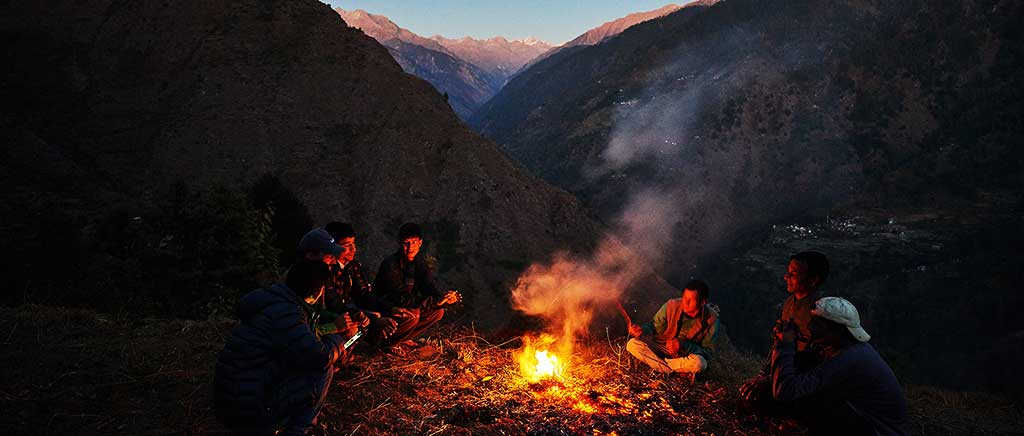great himalayan national park photo night under the stars