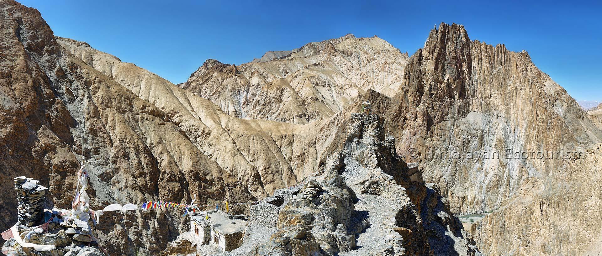 Techa gompa, Trek de la vallée de la Markha, Ladakh