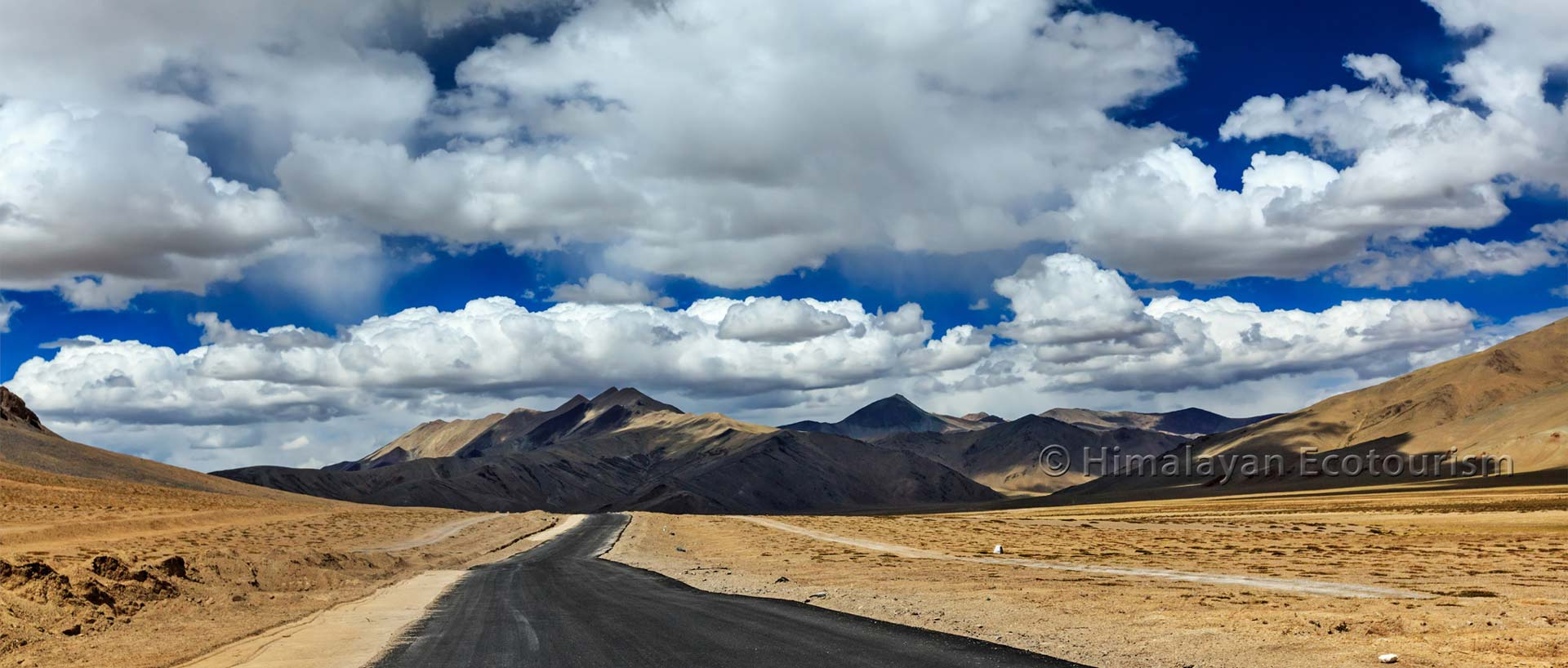 The Manali to Leh road