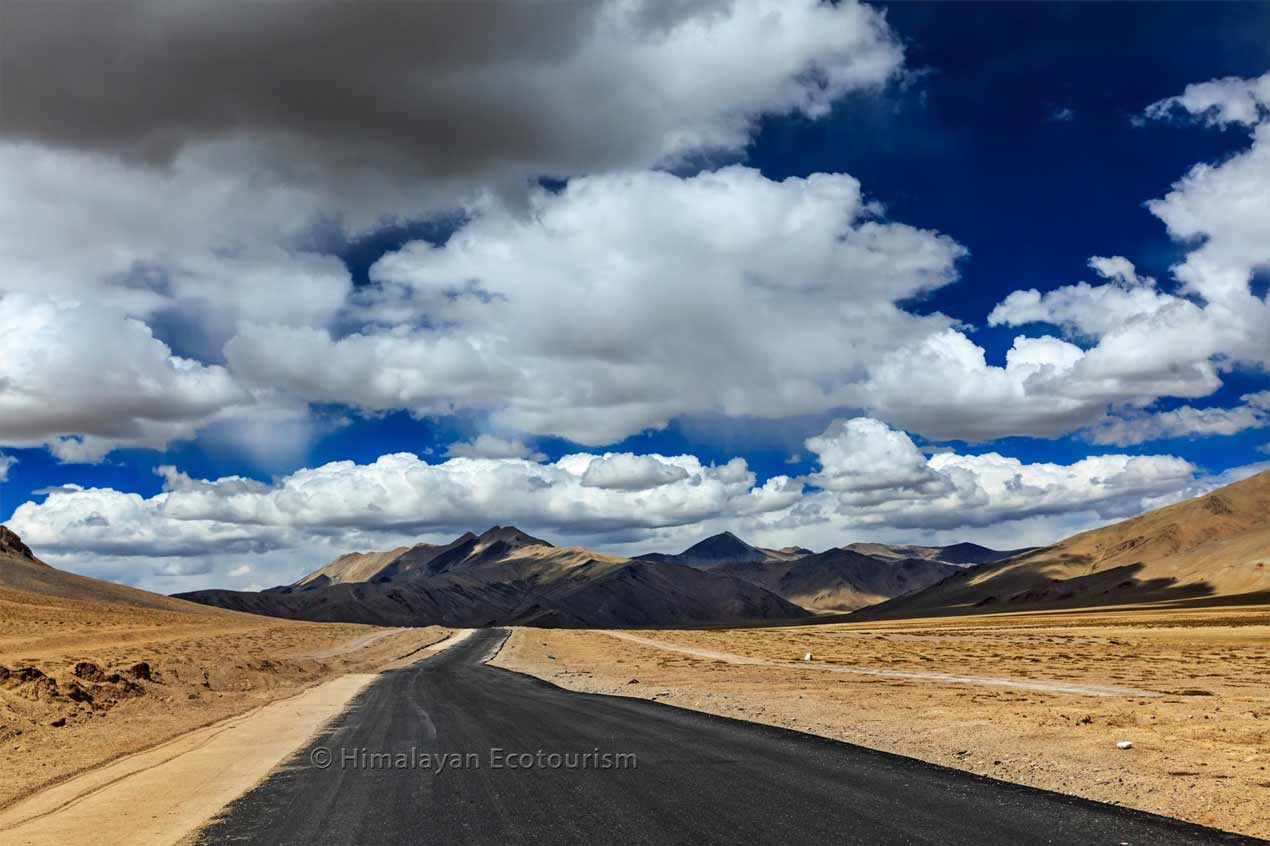 Manali to Leh road, Ladakh