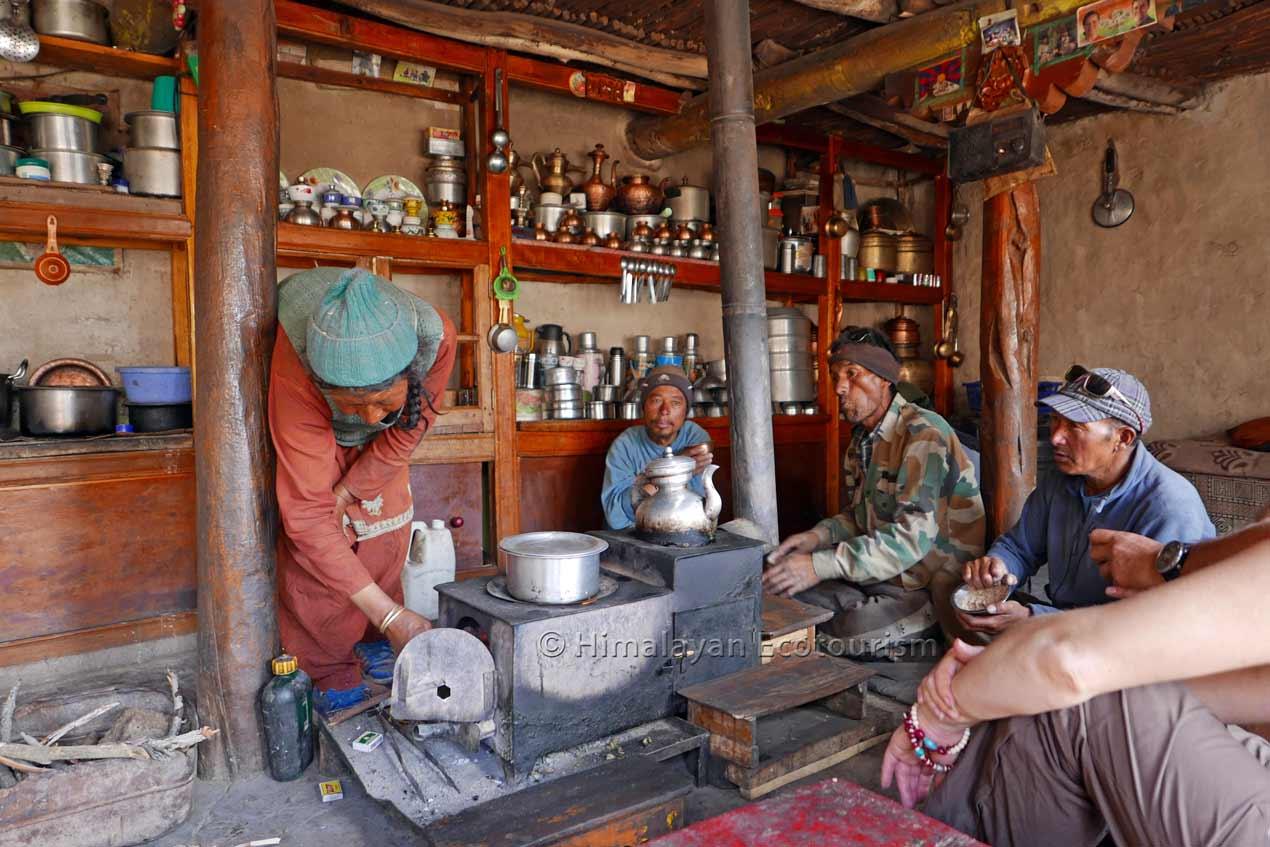 Loger chez l'habitant au Ladakh