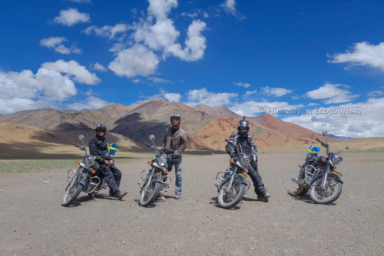 Motorcycling in Ladakh Royal Enfield