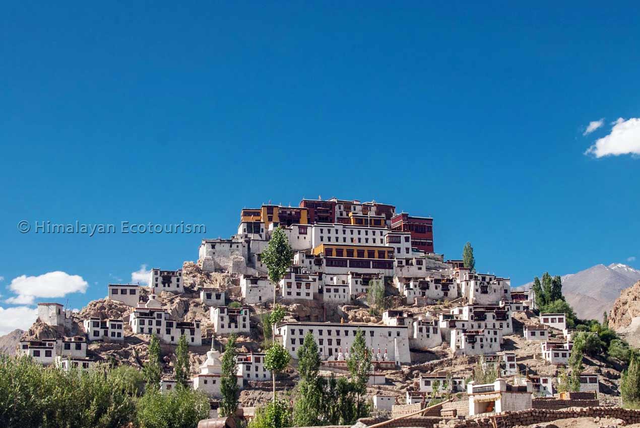 Monastère de Thiksey Ladakh