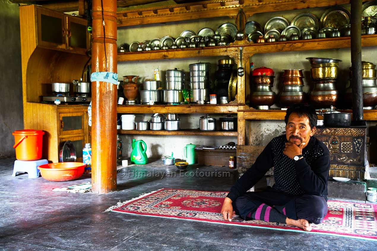 Chez l'habitant au Ladakh