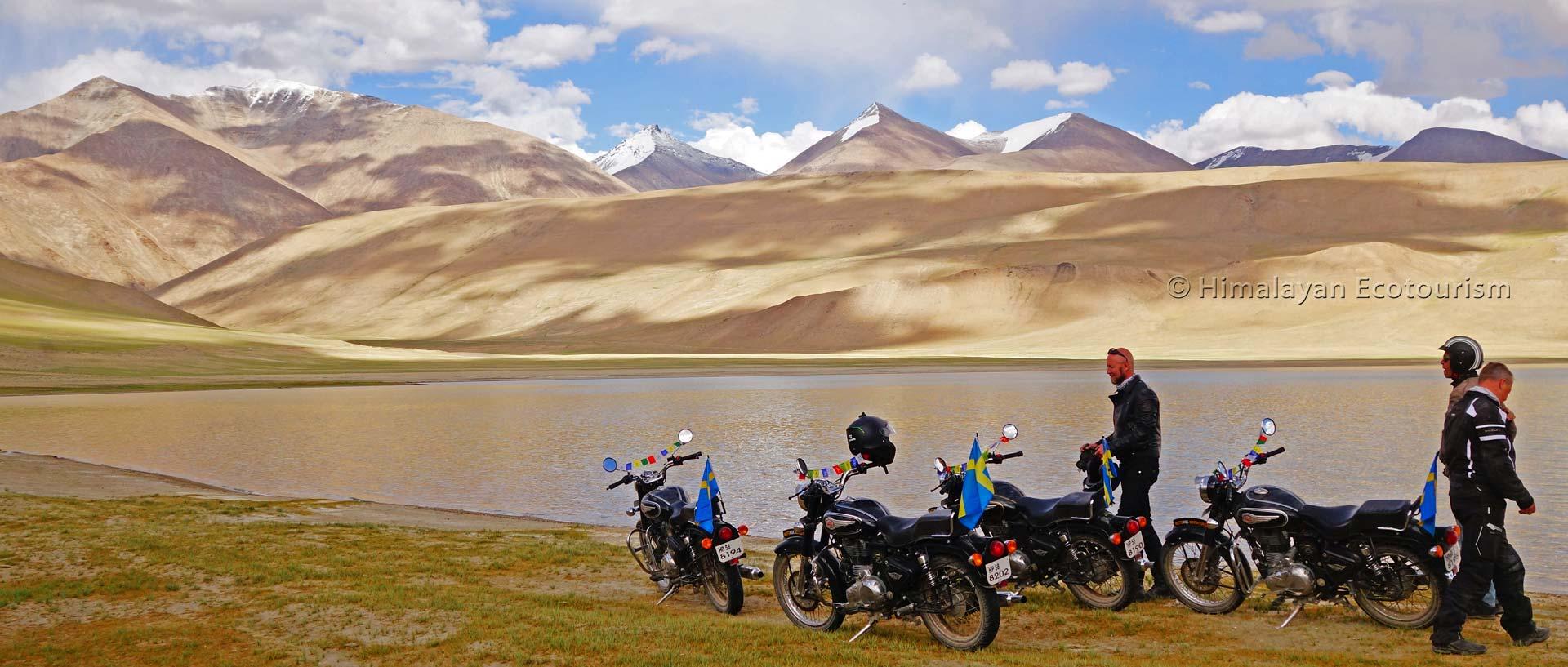 Le lac Tso Moriri, Ladakh