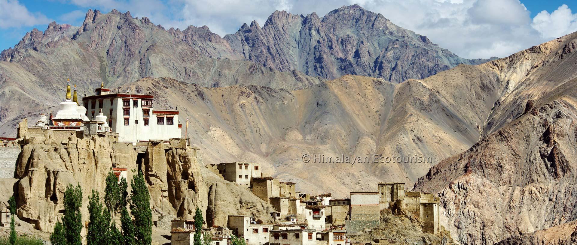 Le monastère de Lamayuru, Ladakh
