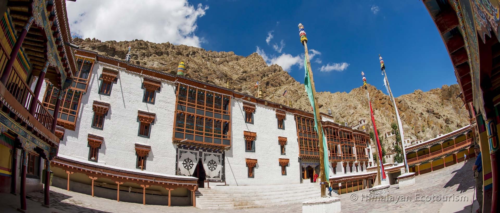 The Hemis monastery on day 7
