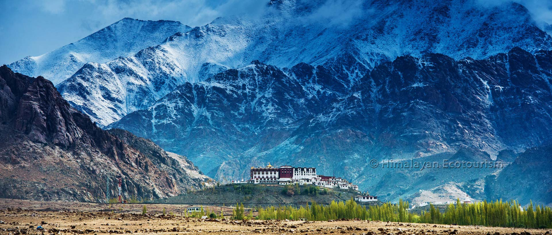 Monasteries and mountains in Ladakh