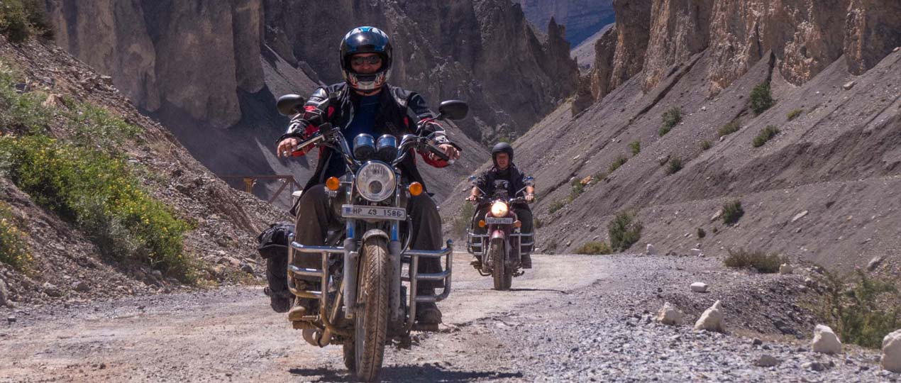 Bike safari in Lahaul & Spiti