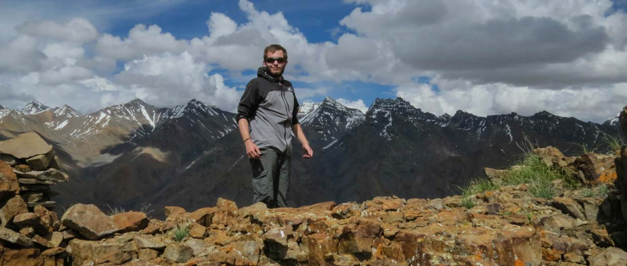 On trek in Spiti with Himalayan Ecotourism