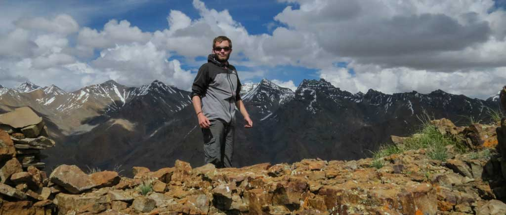 On trek above the Spiti valley