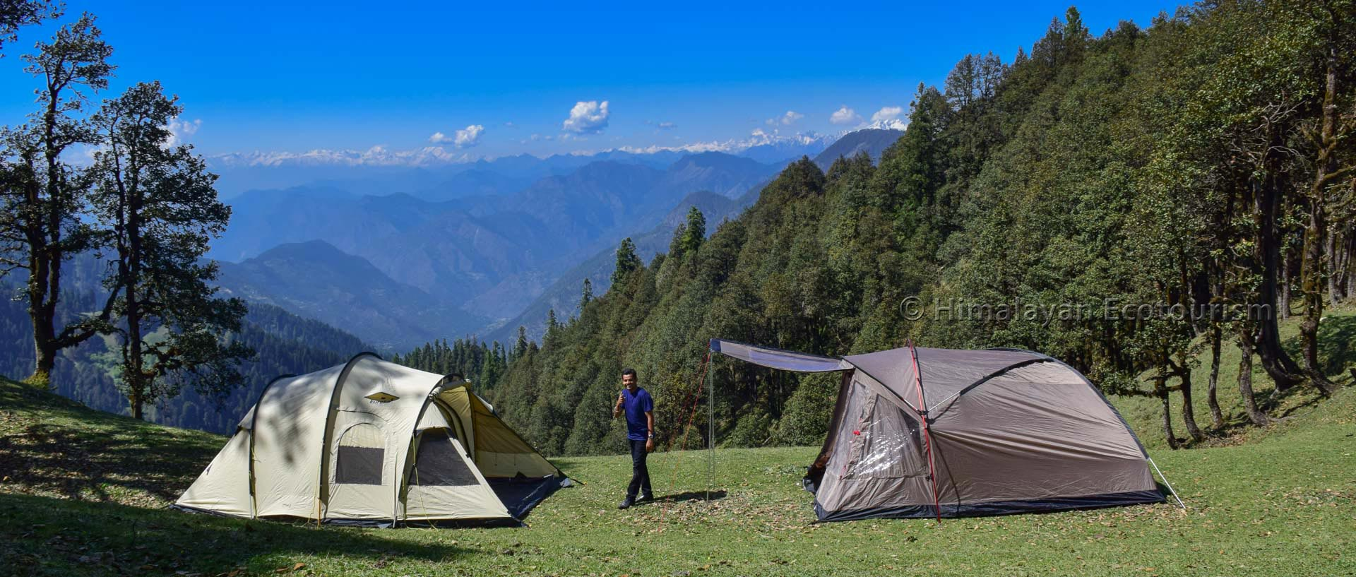 Nature therapy in Himalayas for disabled persons