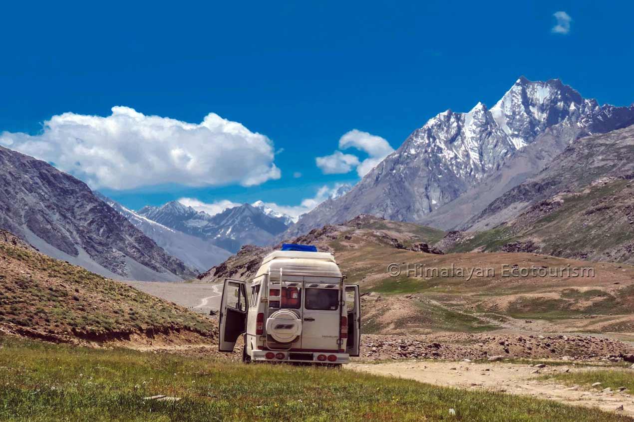 Leaving Chandratal