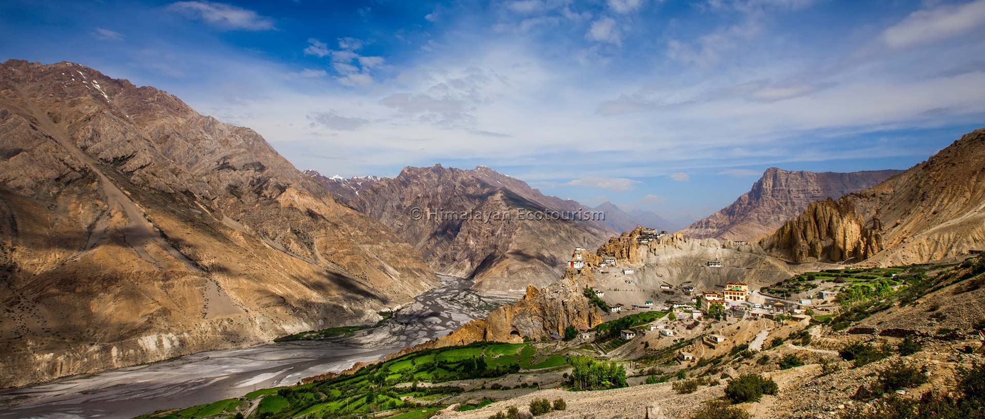 Dhankar Spiti valley