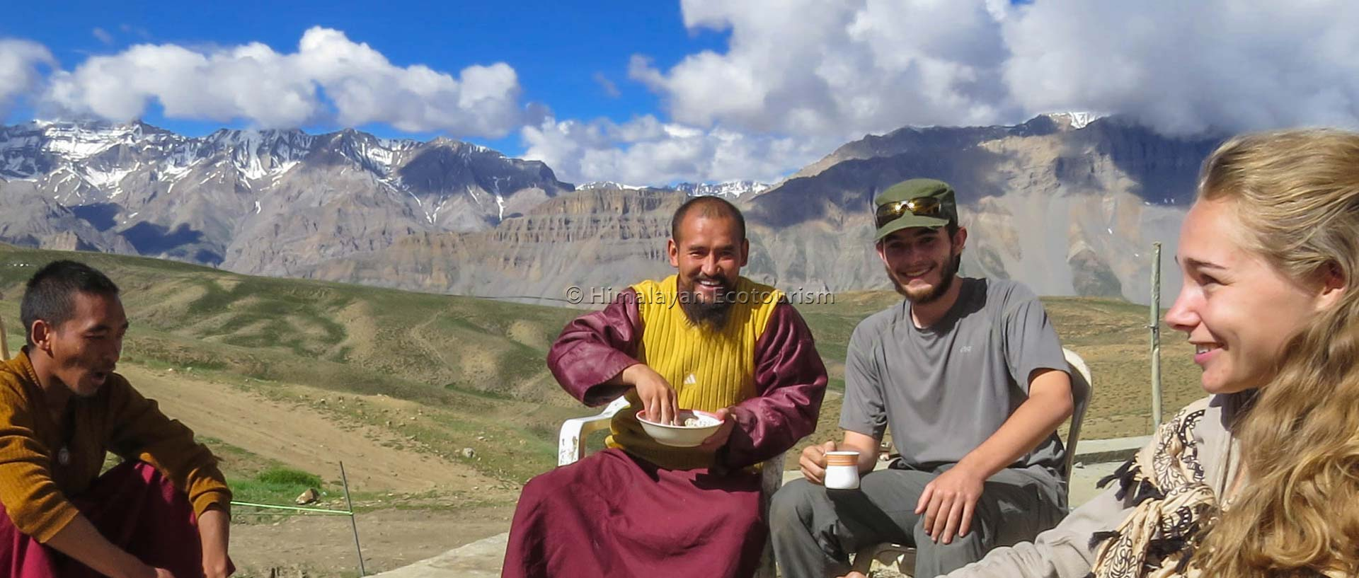 Spiti moines bouddhistesv