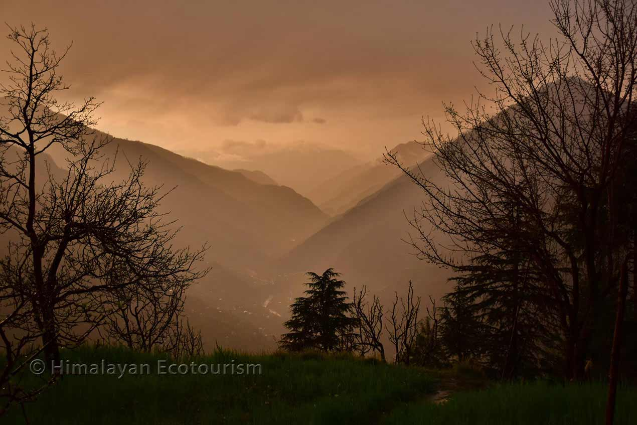 Picture of the Tirthan valley