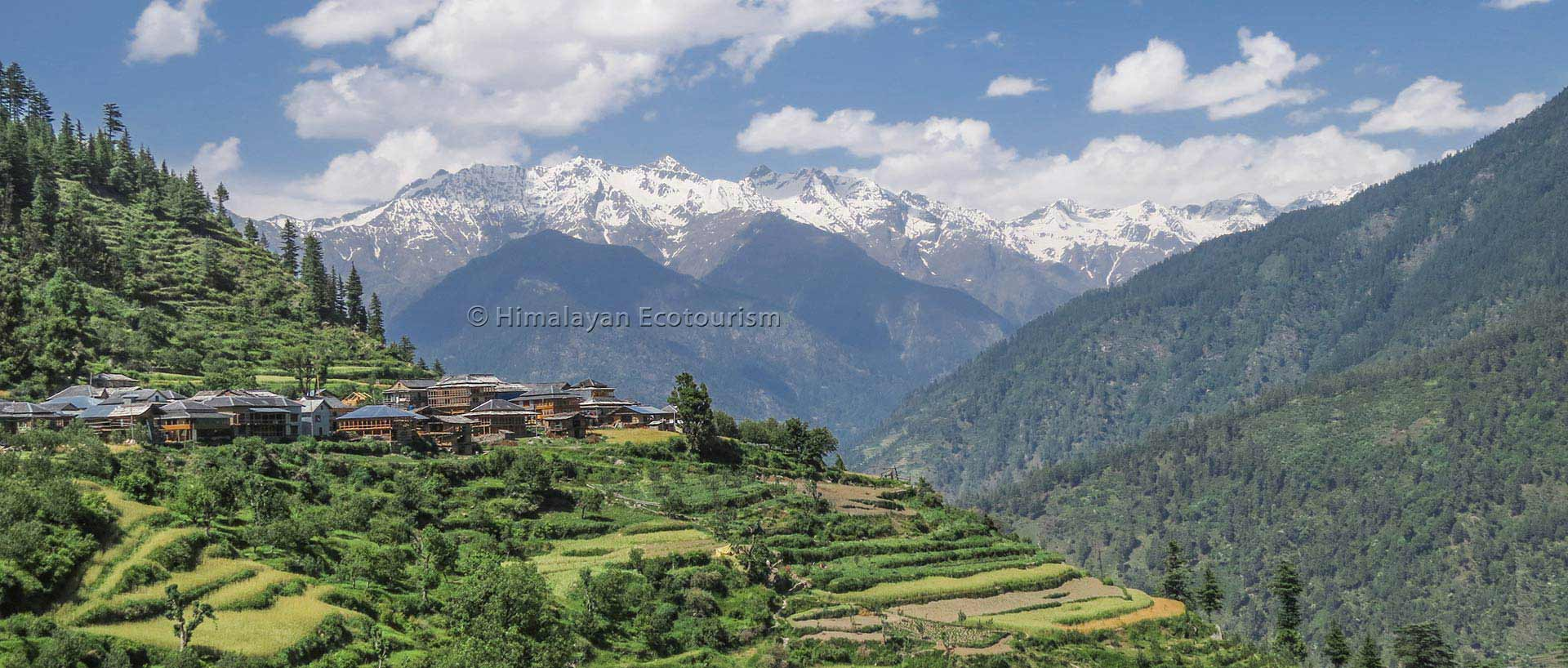 Photo of the Tirthan valley