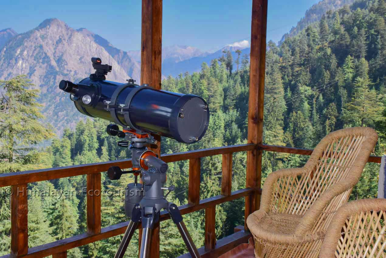 Stargazing in the Tirthan valley