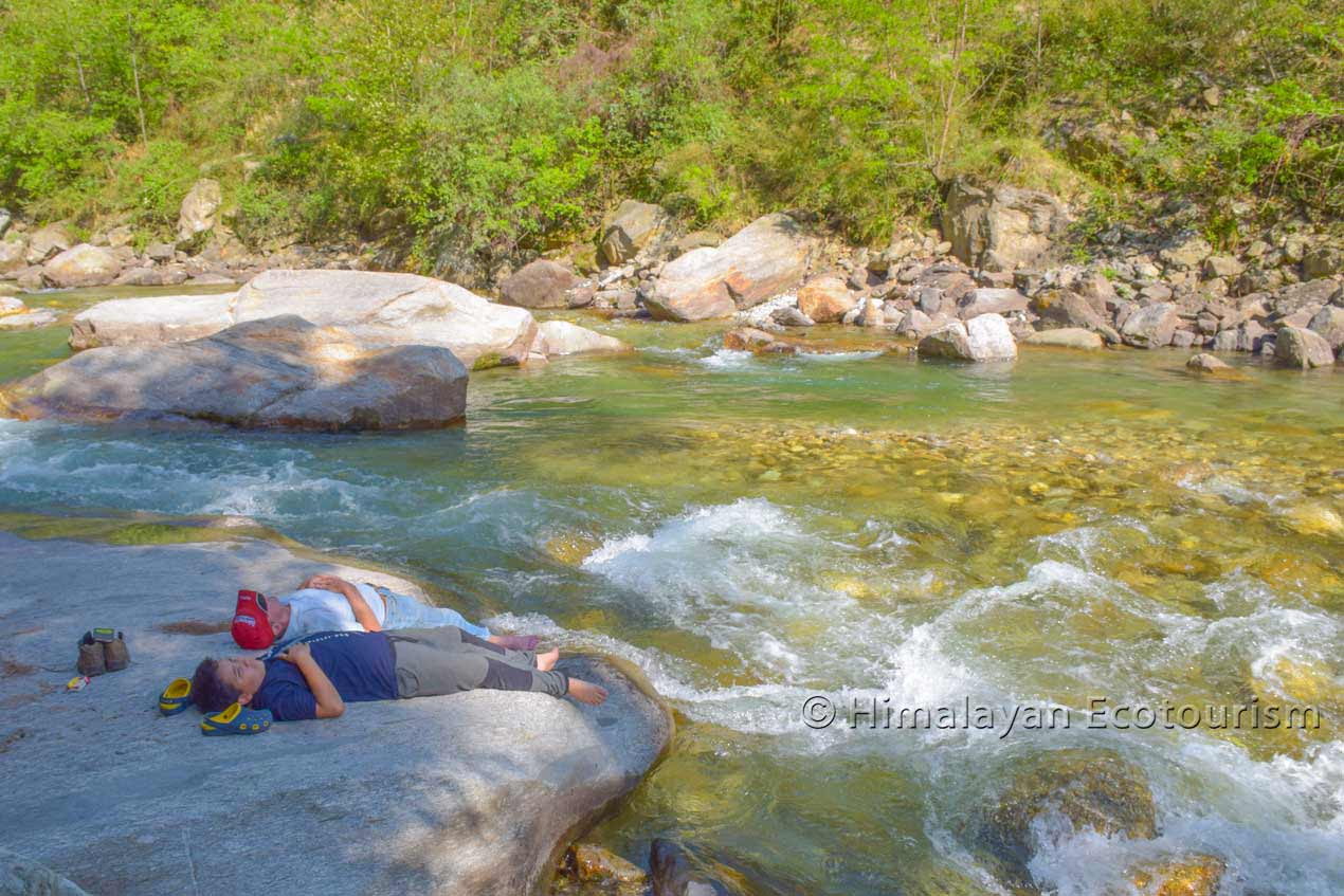 Holiday in the Tirthan valley