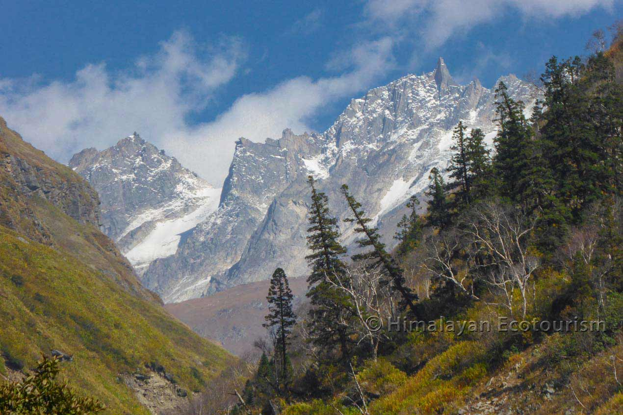 The Tirthan valley trek to Tirth in the GHNP