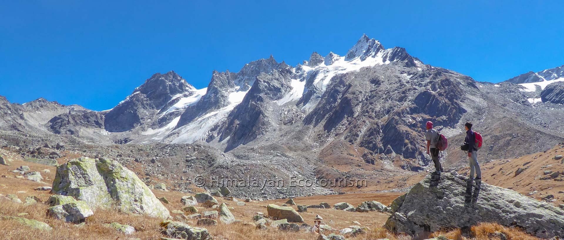 Tirth trek in the Great Himalayan National Park GHNP - On the way to Tirth